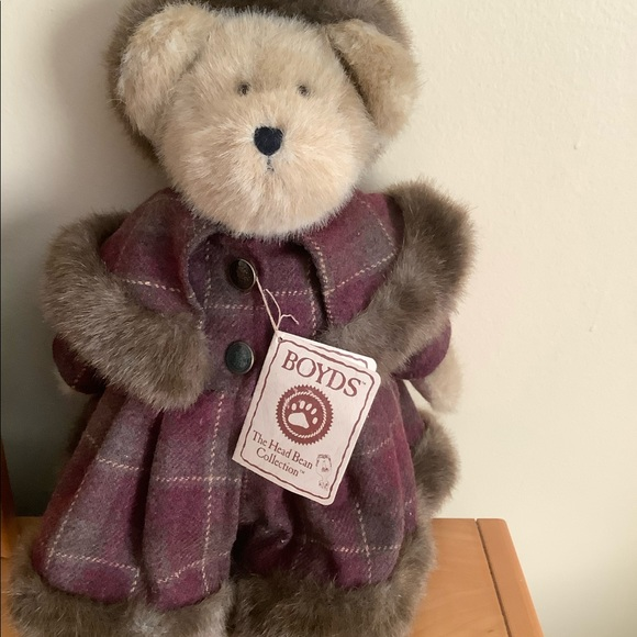 Boyds the head bean best dressed collection bear